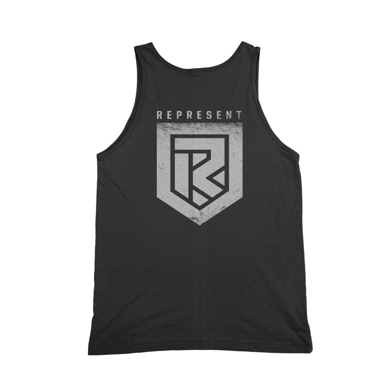 We Grindin' Tank Top [CHARCOAL]