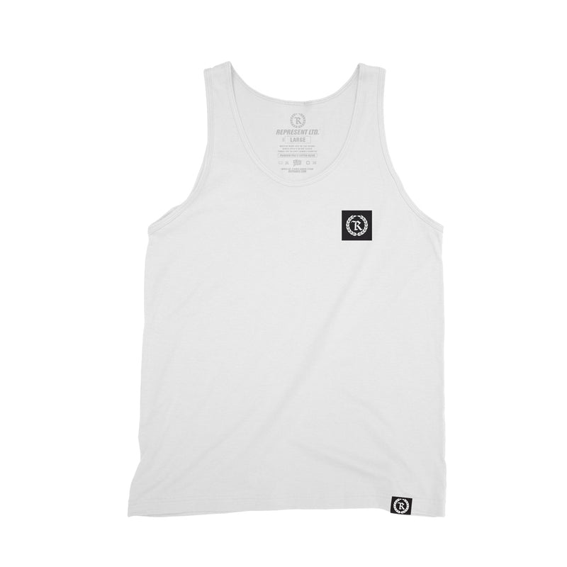 Boxed In Original Monogram Tank Top [WHITE]