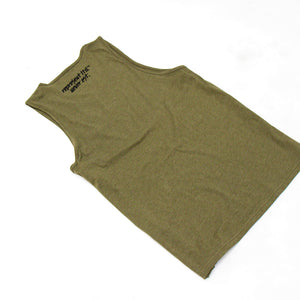 Never Established Patch Tank Top [MILITARY GREEN]