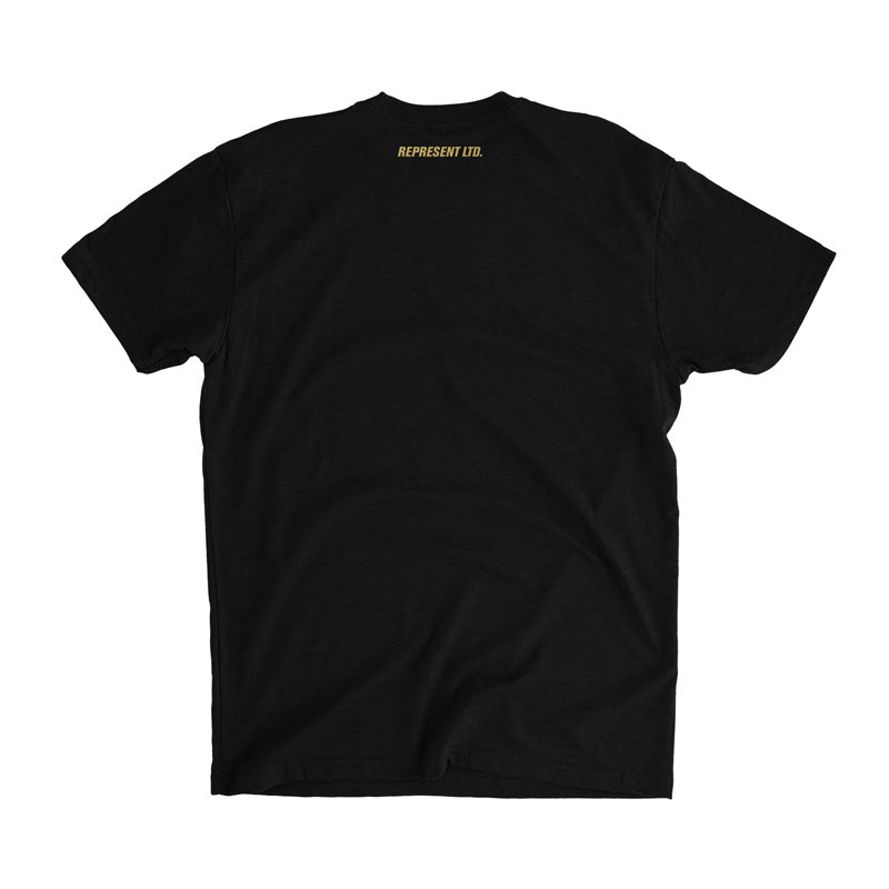Black X Gold Gang Tee
