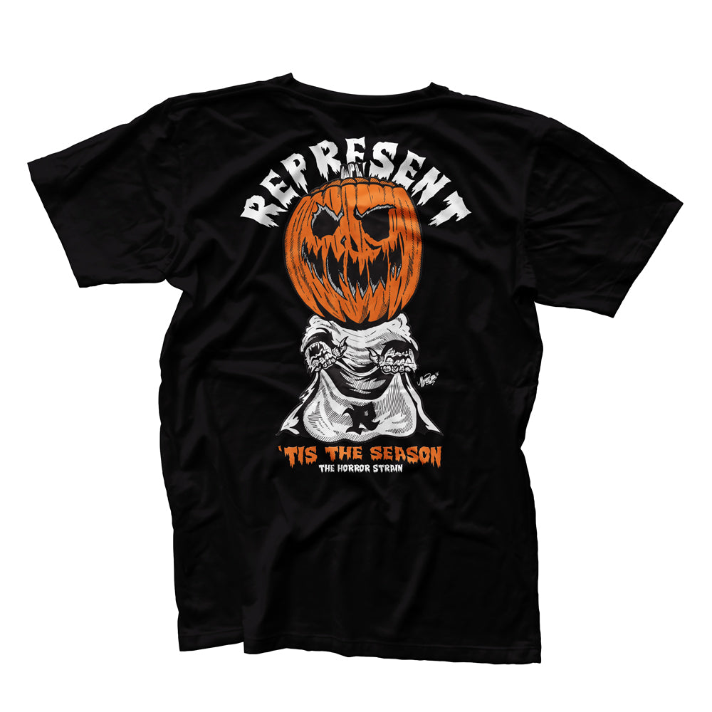 Tis The Season Halloween Horror Strain Tee