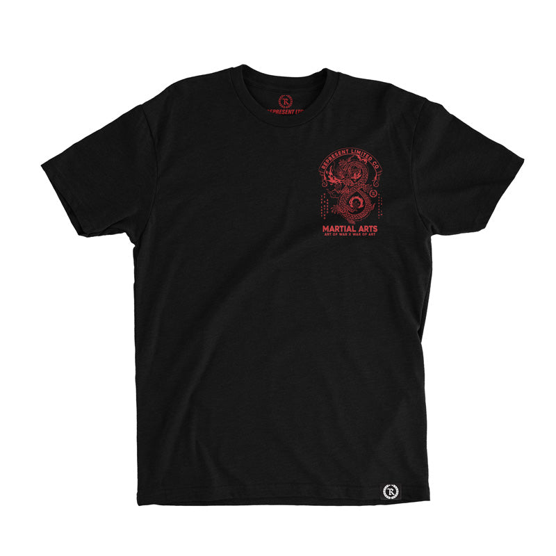 Art of War X War of Art Tee [BLACK]