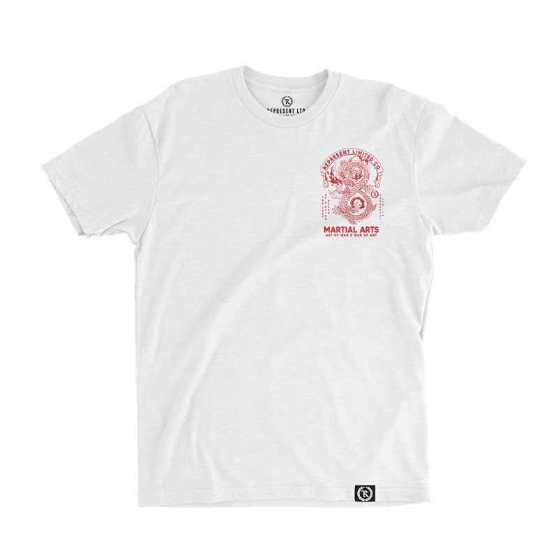 Art of War X War of Art Tee [WHITE]