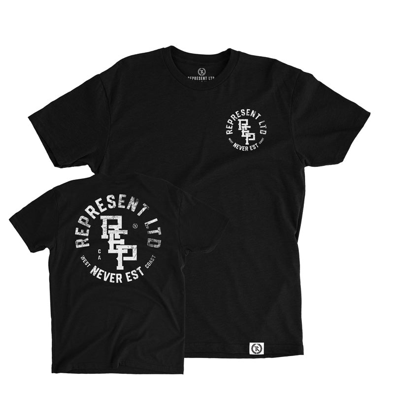 West Coast Realest Crew Tee [BLACK]