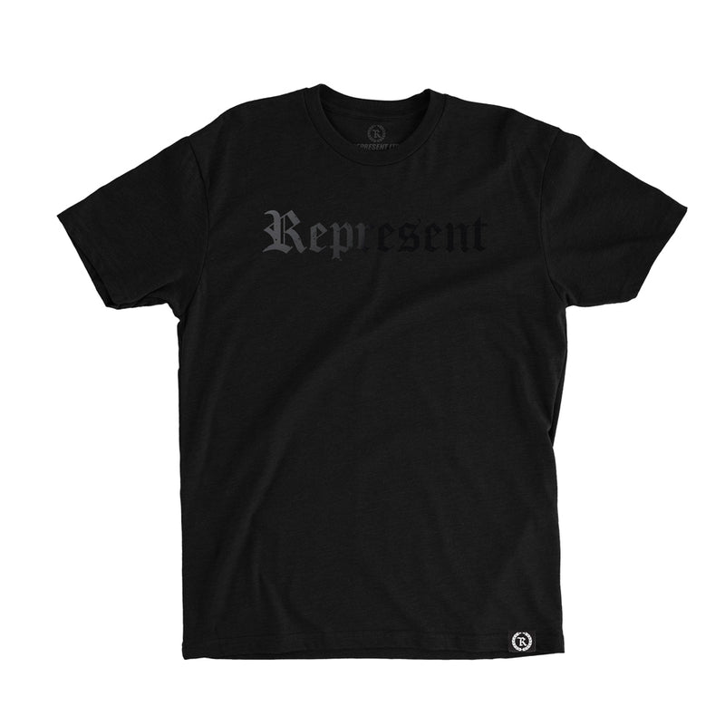 Original Classic Blacked Out Tee [BLACK X BLACK]