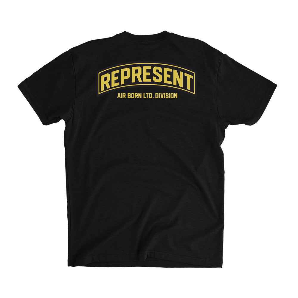 Air Born Most Hight Division Tee [BLACK]