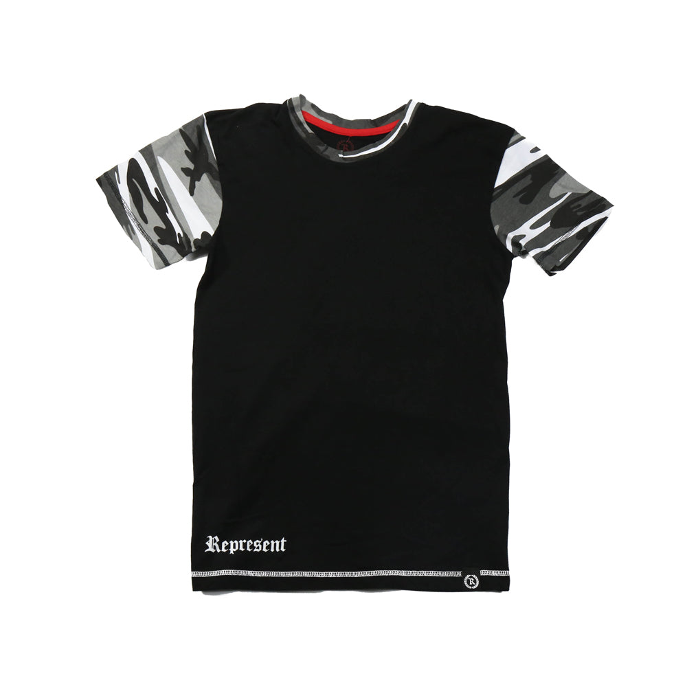 Fashion Camo Tee [BLACK X GRAYSCALE CAMO]