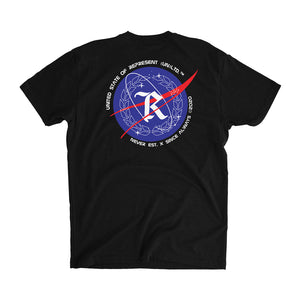 Just Left Houston Space Tee [BLACK]