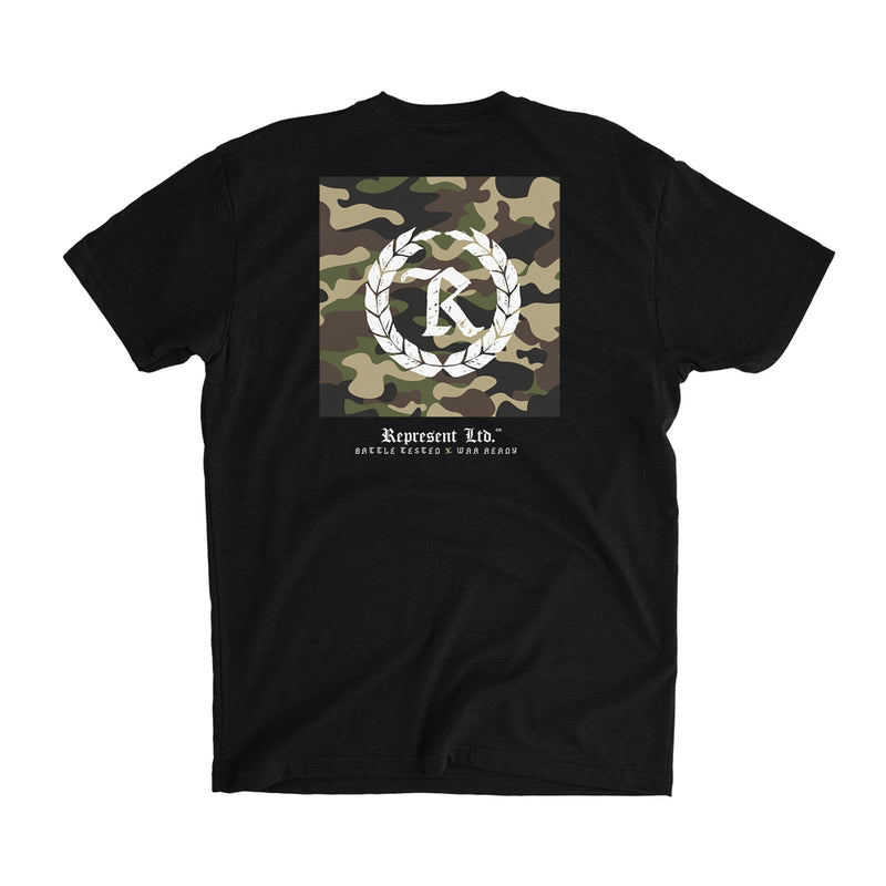 Battle Tested X War Ready Tee [BLACK]