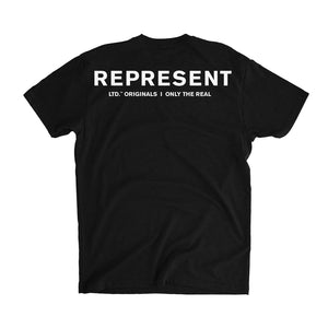 Only The Real Tee [BLACK]