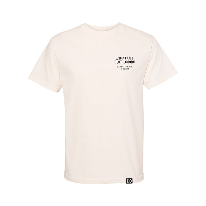 Protect The Hood Vndta Collab Tee [SAND] LIMITED EDITION