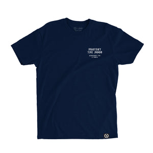 Protect The Hood Vndta Collab Tee [NAVY] LIMITED EDITION