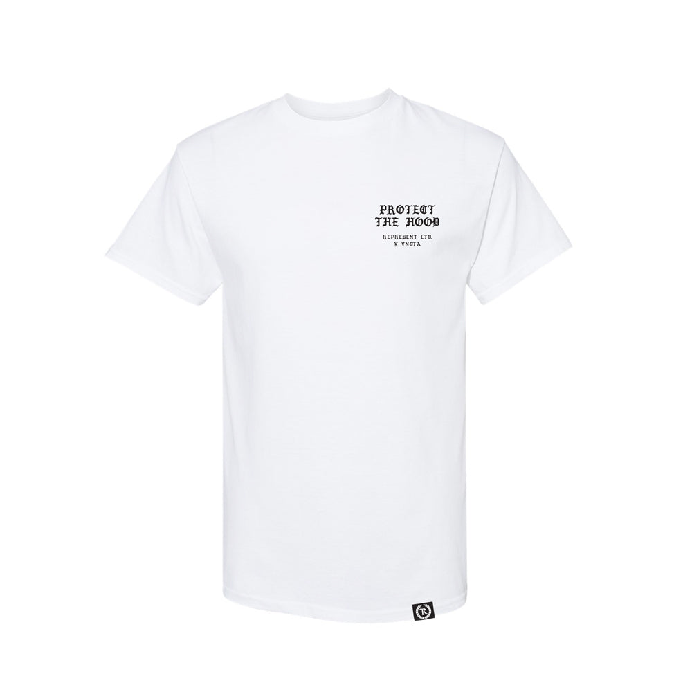 Protect The Hood Vndta Collab Tee [WHITE] LIMITED EDITION