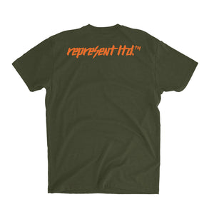 Rough 'N' Rugged Monogram Tee [MILITARY GREEN]