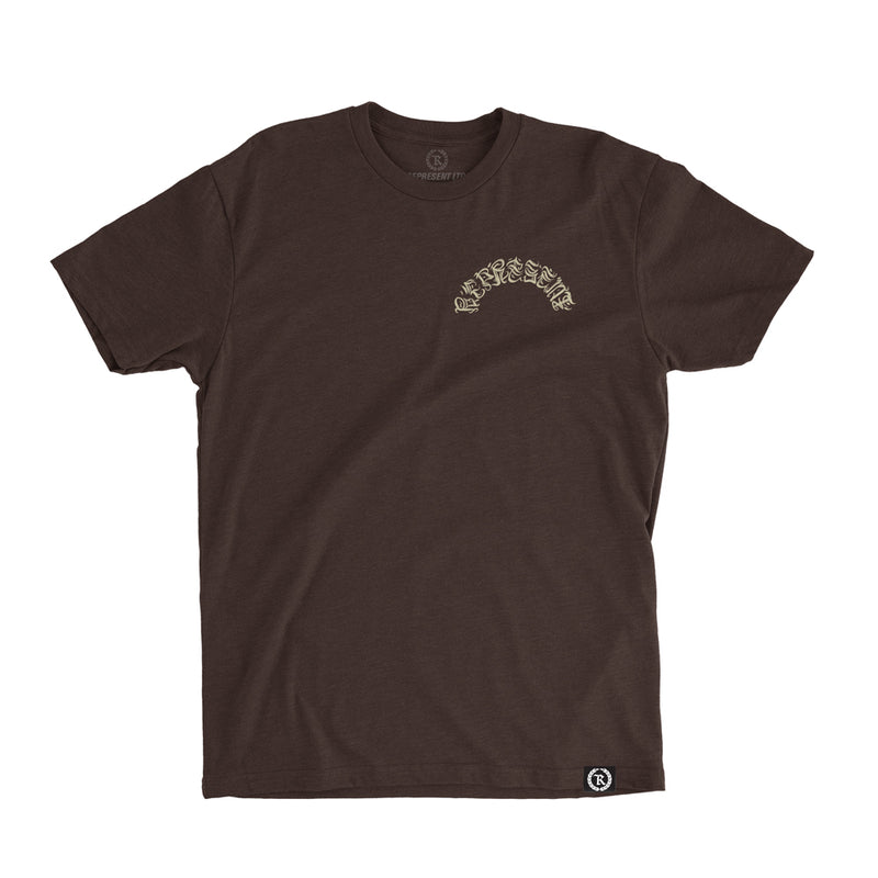 Hand Crafted Graf Tee [ESPRESSO BROWN]