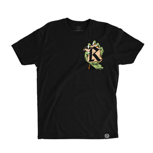 Break On Through Glow In The Dark Tee [BLACK] LIMITED EDITION