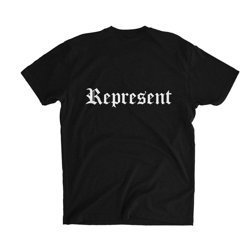 Original Classic HD Imprint Tee [BLACK X WHITE]