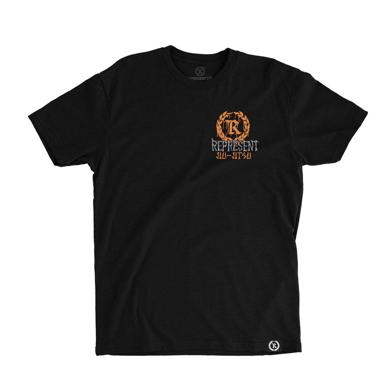 Pumpkin Head Jiu Jitsu Tee [BLACK] GLOW IN THE DARK EDITION