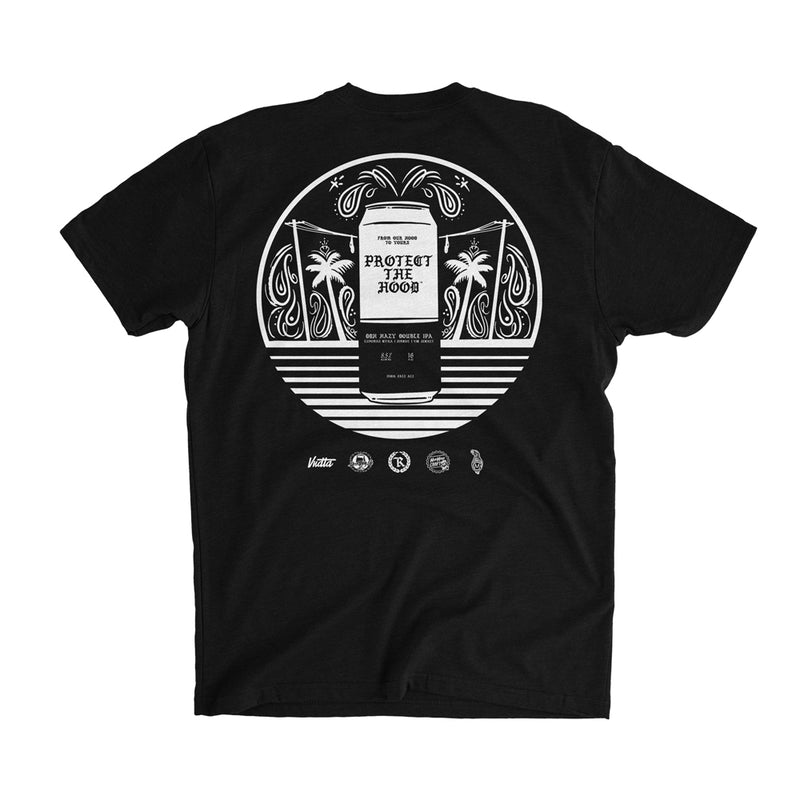 Protect The Hood Beer Collab Tee [BLACK] SPECIAL EDITION