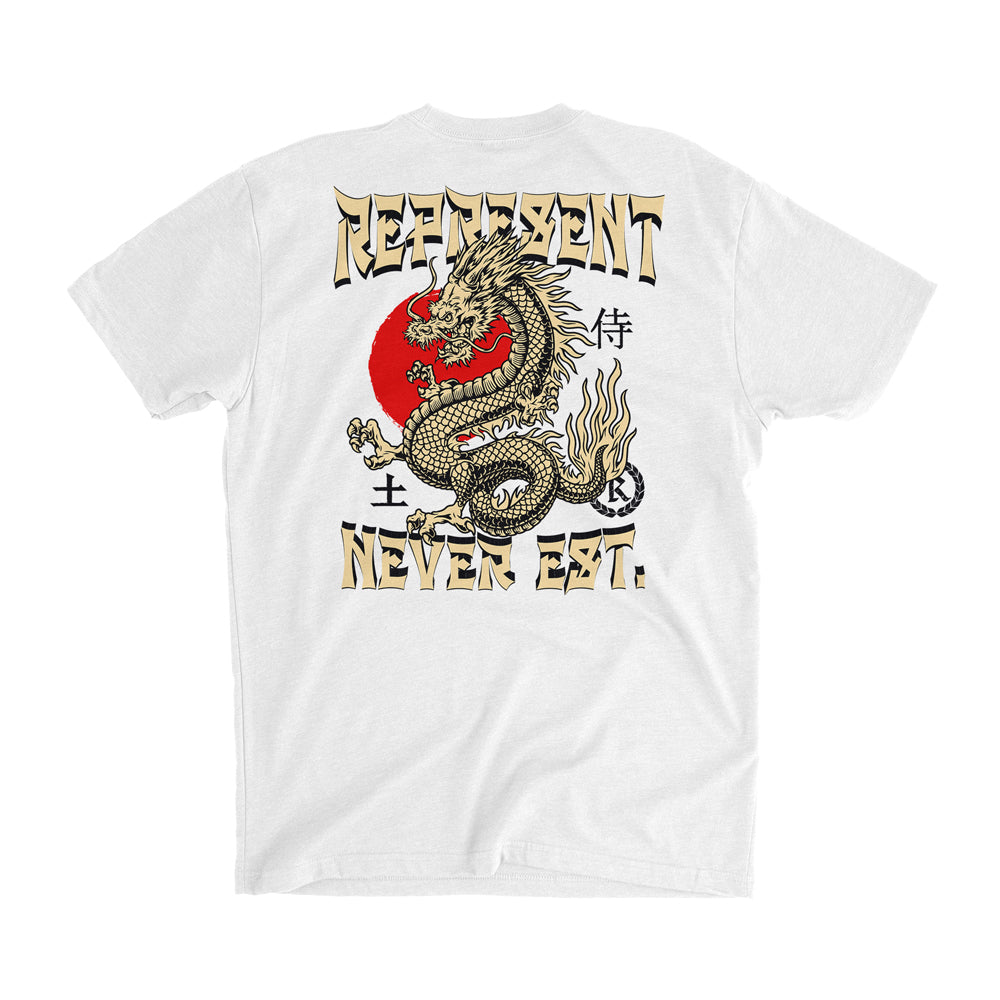 Enter The Dragon Tee [WHITE] SPECIAL EDITION