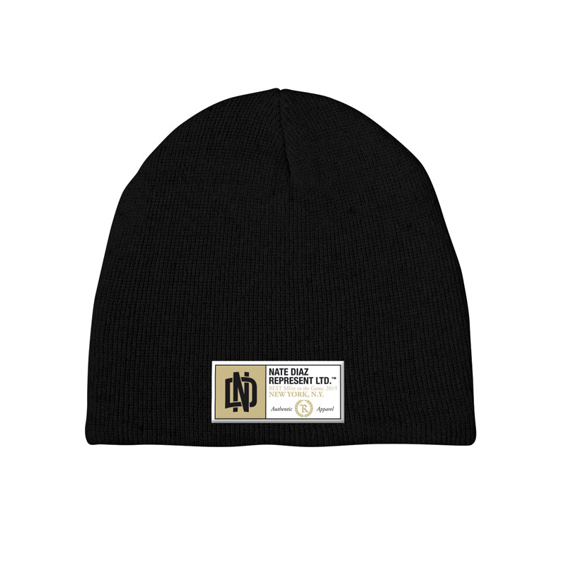 Nate Diaz BMF Fight Capsule Beanie [BLACK]