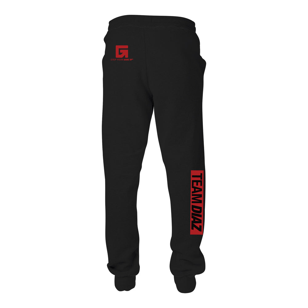 TEAM DIAZ Camp Stockton Training Gear Joggers [BLACK] NATE DIAZ UFC 262 CAMP EDITION