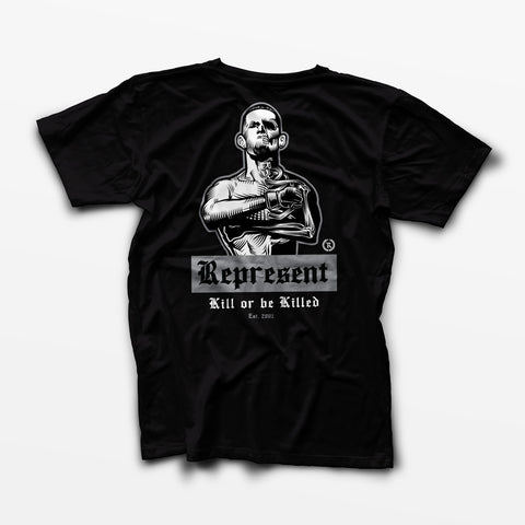 Nate Diaz 'Real Skin-to-Bone' Tee