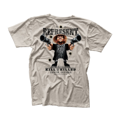 Nate Diaz 'Most Wanted' Wild West Tee [Represent x Dosbrak Collaboration]