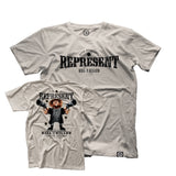 Nate Diaz 'Most Wanted' Wild West Tee [REPRESENT X DOSBRAK]