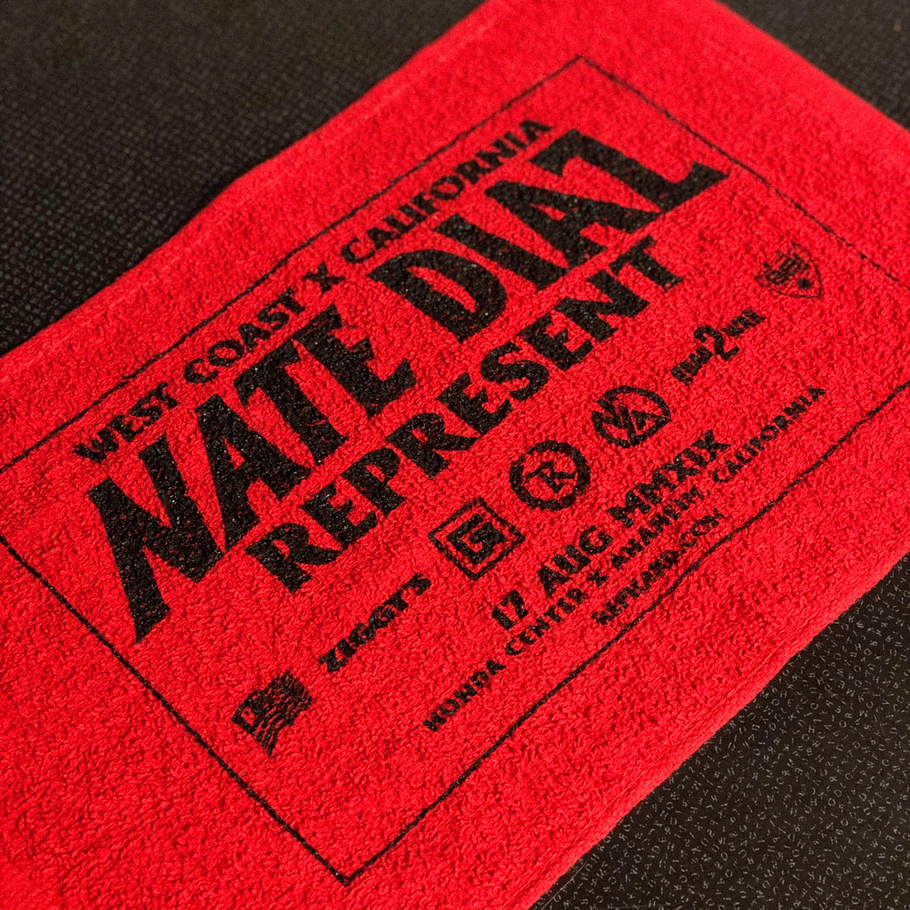 Nate Diaz Aug 17 MMXIX Official Rally Towel