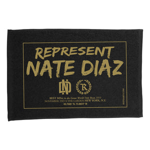 Nate Diaz BMF Fight Capsule Rally Towel [BLACK]