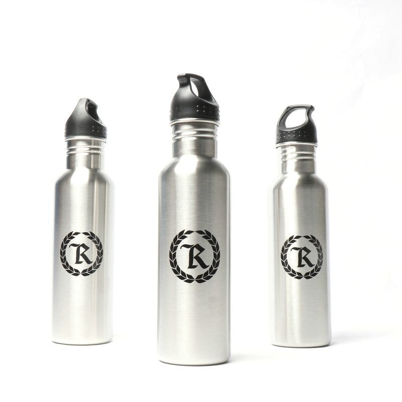 Kona Silver Steel 26 oz. Water Bottle