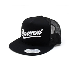 Ltd Script Trucker Snapback [BLACK]