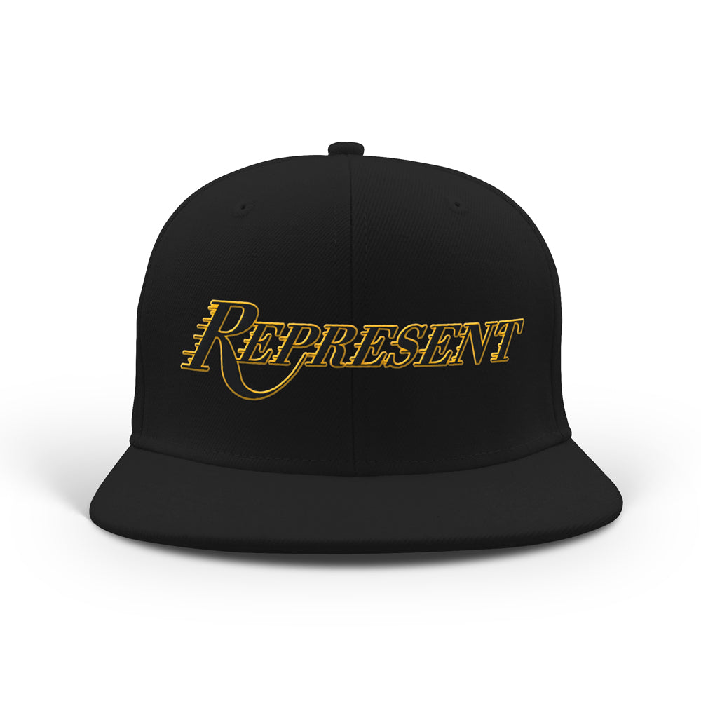 Purple N Gold 2020 Champions Classic Snapback [BLACK X WHITE] 8/24 LIMITED EDITION