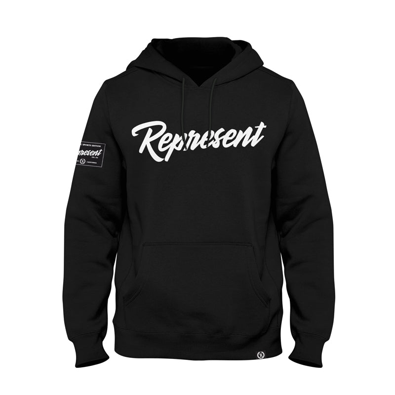 Authentic Fall Classic Heavy Pullover Hoodie [BLACK]