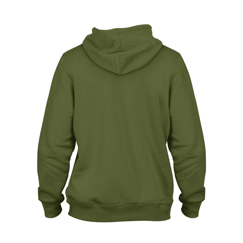 Authentic Fall Classic Heavy Pullover Hoodie [MILITARY GREEN]