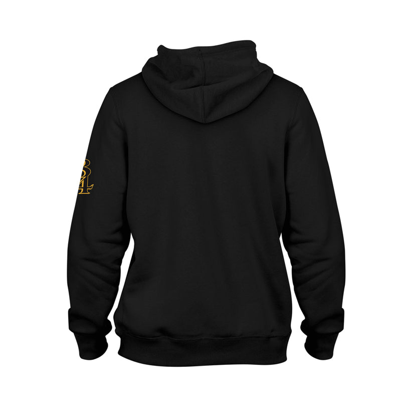 Purple N Gold 2020 Champs Midweight Pullover Hoodie [BLACK] 8/24 LIMITED EDITION