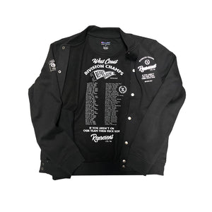 Division Champs Team Letterman Bomber [BLACK]