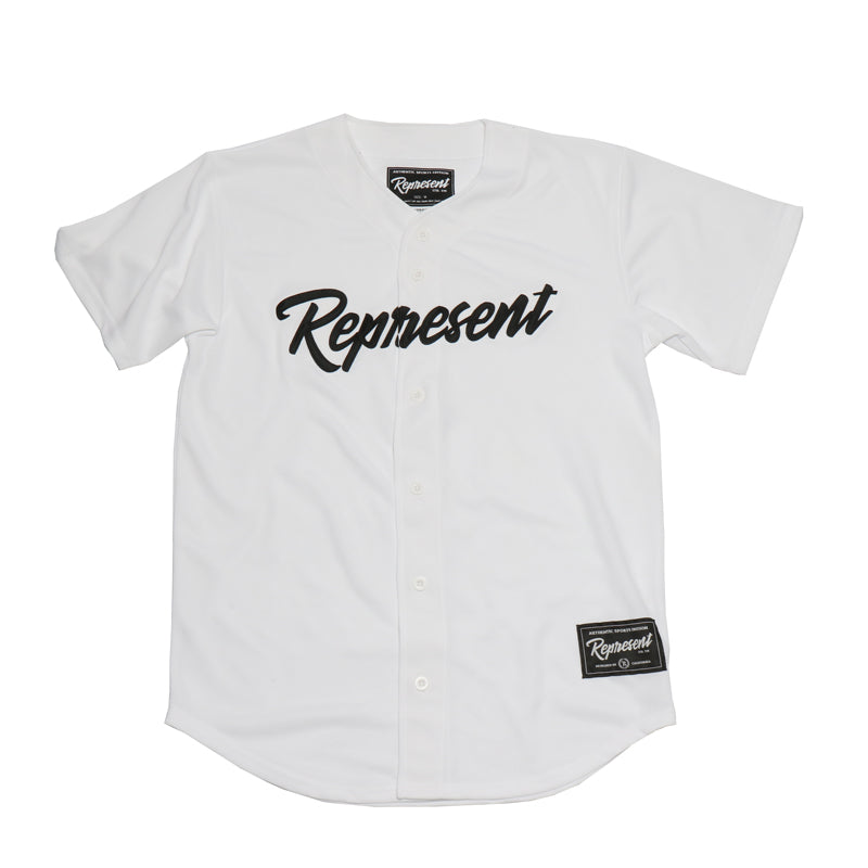 Authentic Fall Classic Baseball Jersey [WHITE]