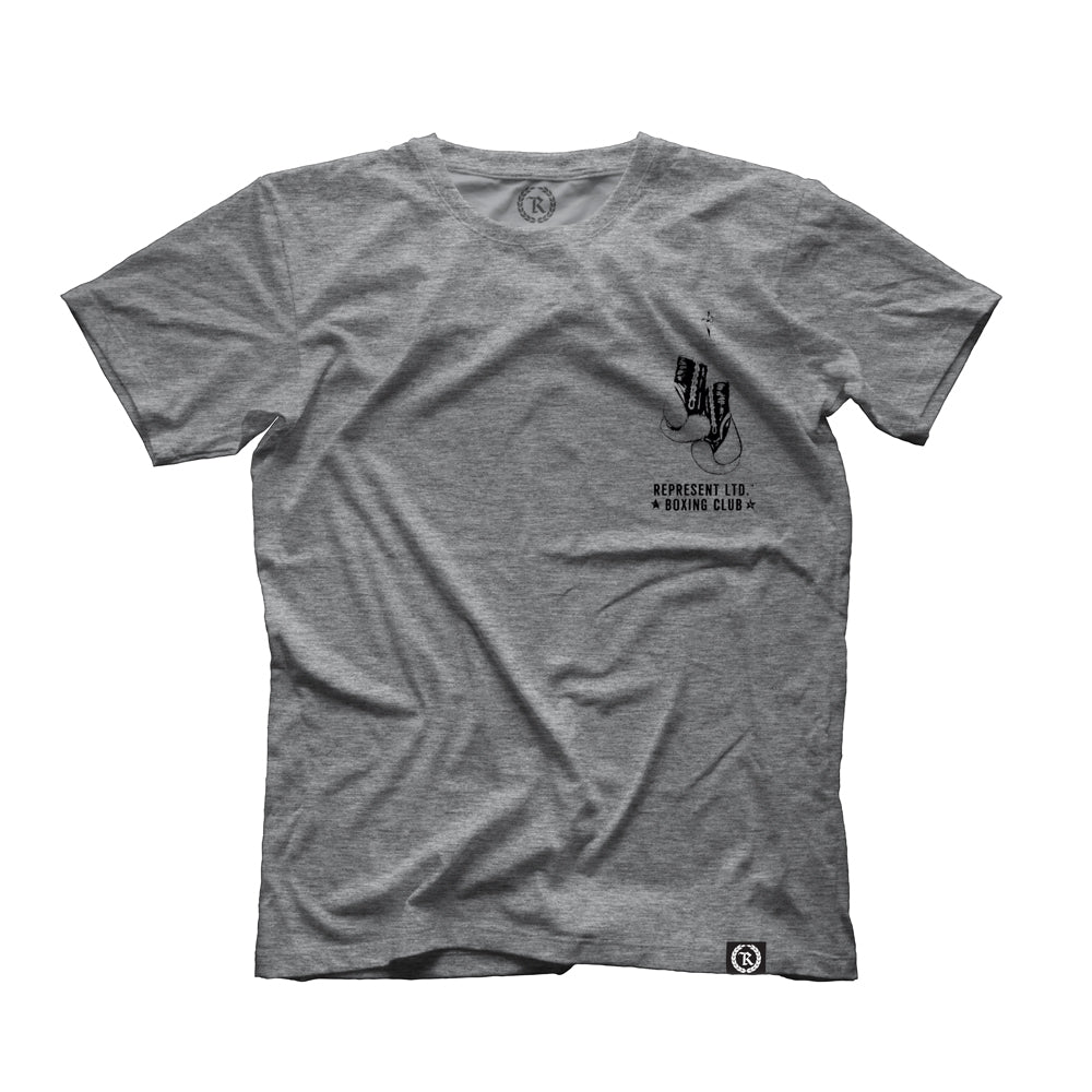 Boxing Club Heather Gray Tee