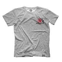 Running Man Heather Gray Tee