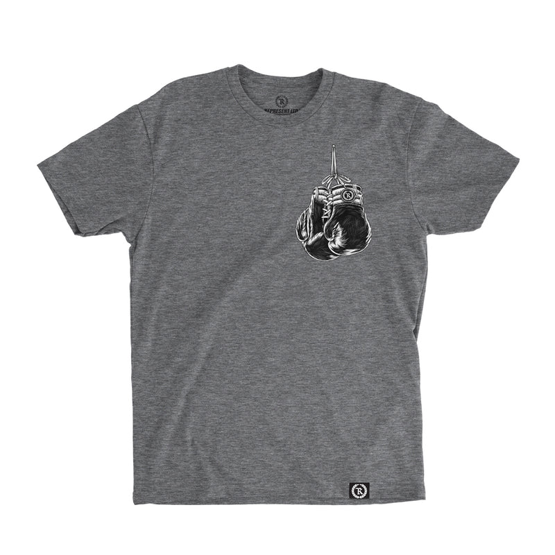 Vintage Boxing Gloves Tee [DARK HEATHER]