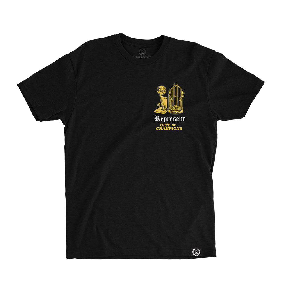 City of Champions Tee [BLACK] 8/24 LIMITED EDITION