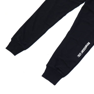 Black Gang Women's French Terry Joggers [BLACK]