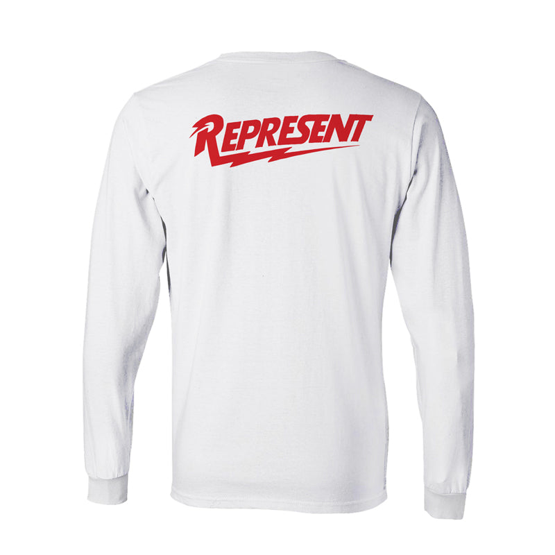 Electric Youth Long Sleeve Tee [WHITE]