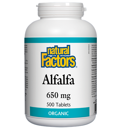 Alfalfa 650 mg - 500 tablet