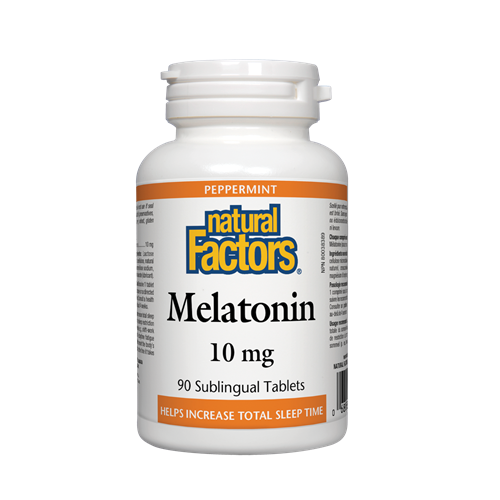 Natural Factors  Melatonin  10 mg  90 cap