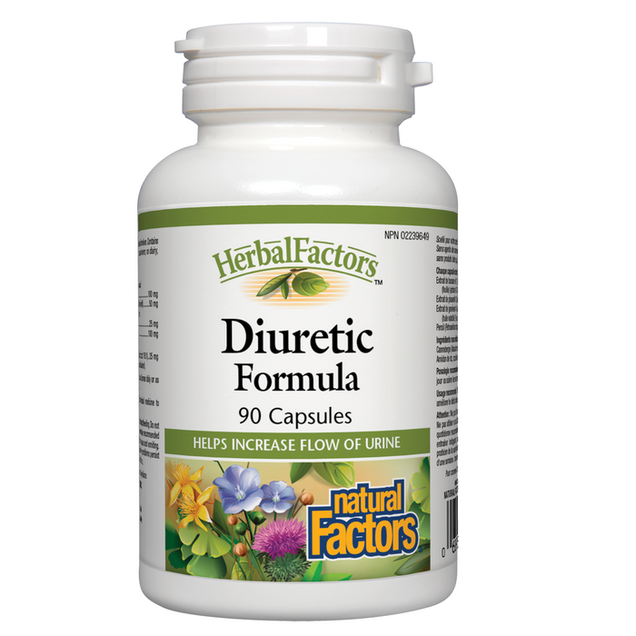Natural Factors HerbalFactors® Diuretic Formula 90 cap