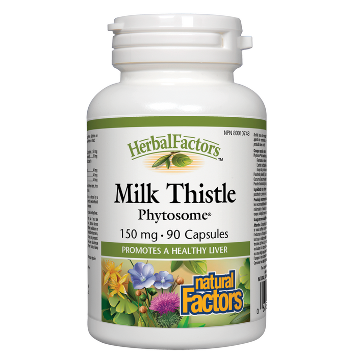 Natural Factors HerbalFactors® Milk Thistle Phytosome® 150 mg - 120 cap