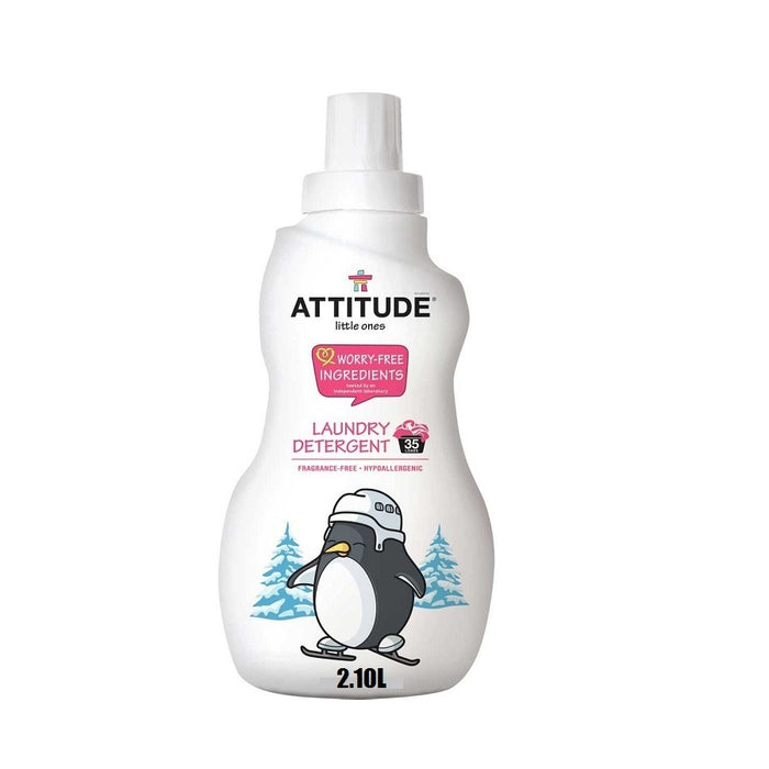 Attitude Laundry Detergent Fragrance Free 2.10L
